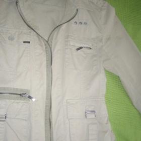 Béžová Army bunda - foto č. 1