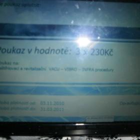 3kr�t poukaz na vibrosaunu, vacu power p�s a vacu/infra stepper Praha - foto �. 1