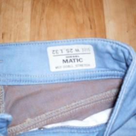 Světle modré Diesel jeans Matic, wash 008LL stretch - foto č. 1
