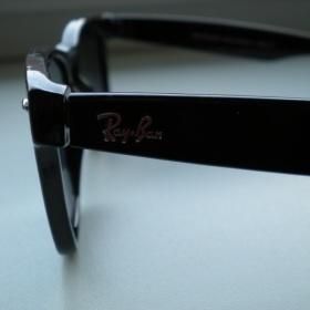 Černé brýle Rayban wayfarer