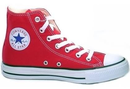 Boty Converse červené kotníkové - Bazar Omlazení.cz 64174d4ec3