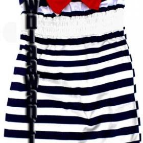 Šaty v námořnickém stylu - foto č. 1