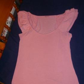 Růžové tričko zn. Gate - foto č. 1