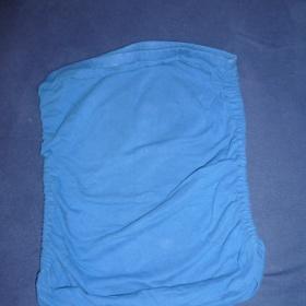 Modrý top bez rukávů zn. Terranova - foto č. 1