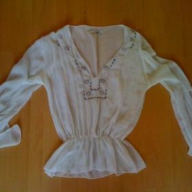 Bílá vyšívaná tunika - foto č. 1