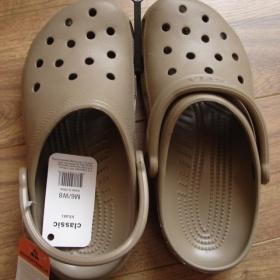 Crocs Classic khaki - foto č. 1