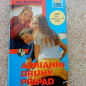 Kniha Adrianin druh� p��pad - Jela Ml�ochov� - foto �. 1