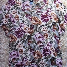 H&M del�� kv�tovan� oversized triko - foto �. 1