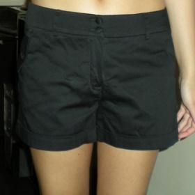 Černé šortky HaM
