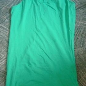 Zelený prodloužený top (minišaty) Značka CA - foto č. 1