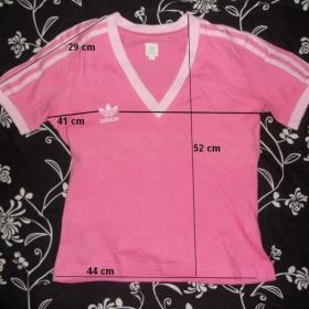 Růžové tričko Adidas - foto č. 1