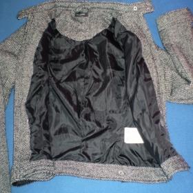 Černo-bílá bundička Takko fashion- krátká - foto č. 1