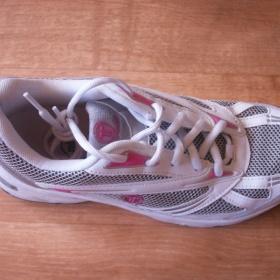 Bílo-růžové sportovní botasky Toplay - foto č. 1
