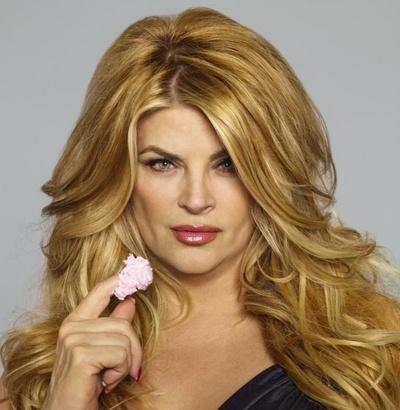 Zlatá blond jako má Kirstie Alley