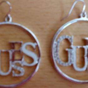 Kruhové náušnice Guess - foto č. 1