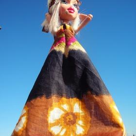 Hippies šaty, sukně, tílka, čelenka - foto č. 1
