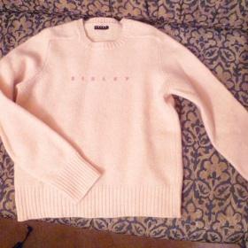 Růžový svetr zn. Benetton ( Sisley) - foto č. 1