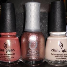 Laky China Glaze a Orly - foto č. 1