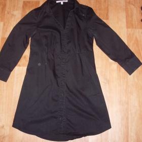 Černá košile Tally Weijl vhodná k legínám - foto č. 1
