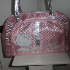 R�ovost��brn� kabelka s ko�i�kou Hello Kitty - foto �. 1