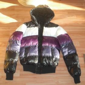P��ov� zimn� barevn� bunda Terranova - foto �. 1