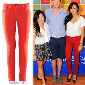 Červené džíny - foto č. 1