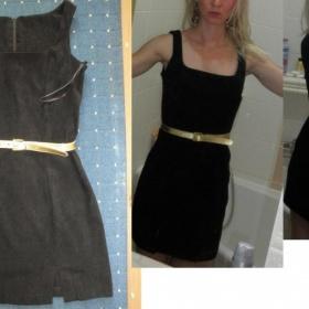 Pouzdrové černé šaty zn.Rampage S/M - foto č. 1