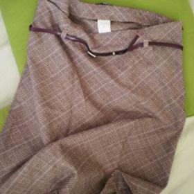 Károvaná sukně do áčka zn. Orsay - foto č. 1