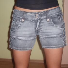 Riflové šortky - foto č. 1