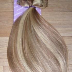 Clip in melír 06/613   lidské vlasy 55cm - foto č. 1