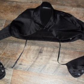 Bolérko čiernej farby - foto č. 1
