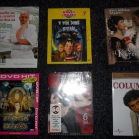 Sada 6ks DVD - foto č. 1