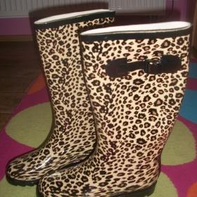 Leopardí holínky - foto č. 1