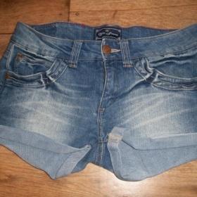 Jeans �ortky, zn. Terranova - foto �. 1