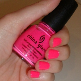 China Glaze - Shoking Pink - foto č. 1