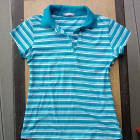 Proužkované košilové tričko - foto č. 1