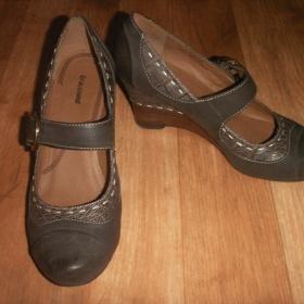 Šedé boty  na klínku Graceland - foto č. 1