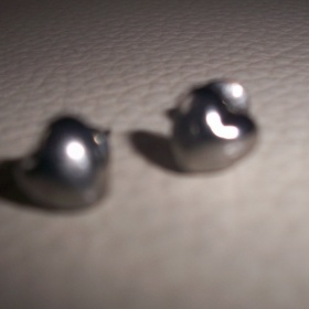 Naušnice srdíčka - foto č. 1