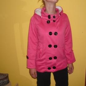 Růžová mikina/kabátek Japan style - foto č. 1