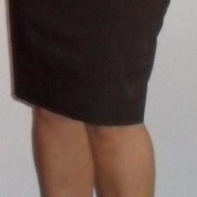 Puzdrová sukňa hnedej farby značky Philip Russel - foto č. 1
