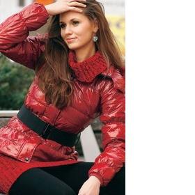 Koupím červenou zimní nebo podzimní bundu - foto č. 1