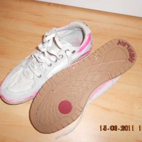 Bílé tenisky Replay - foto č. 1