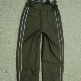 Hnědé lyžařské kalhoty - foto č. 1