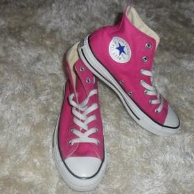 Růžové boty converse - foto č. 1
