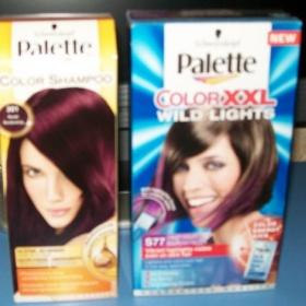 Palette color shampoo a melír bouřlivá fialová - foto č. 1