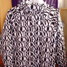 Zimní snowboardová černobílá bunda Roxy - foto č. 1