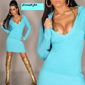 Koupím svetrové šaty nebo prodloužený svetr - foto č. 1