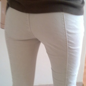 Safari béžové kalhoty Zara - foto č. 1