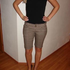 Béžové kalhoty reserved - foto č. 1