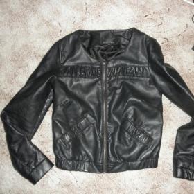 Koženková bunda sáčko elegantní XS-S New Yorker černá - foto č. 1